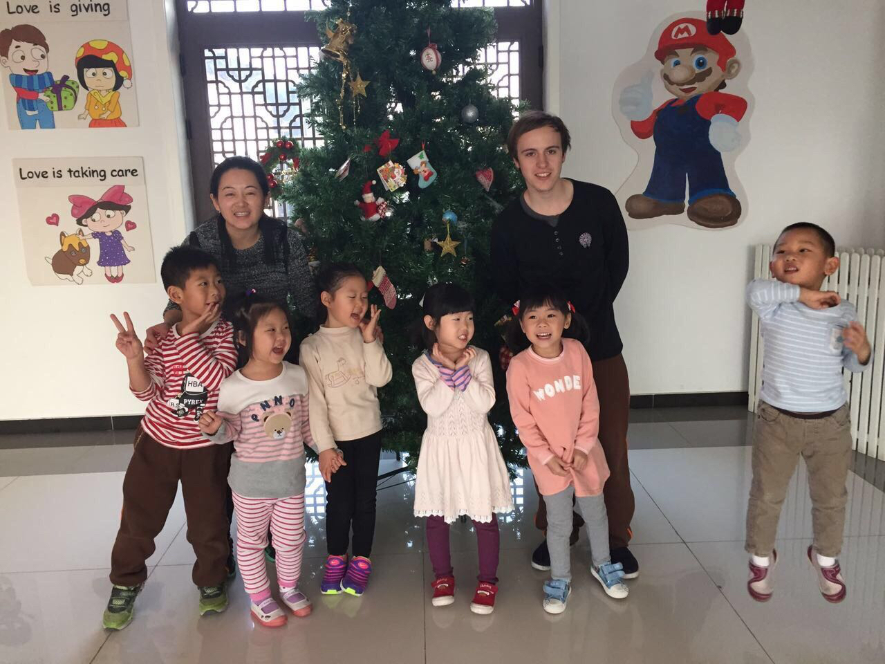 Teaching English in China at a Kindergarten