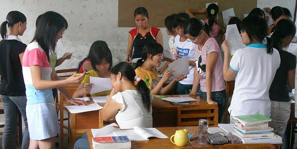 teaching jobs in china - a chinese classroom